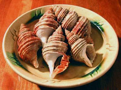 つぶ貝の煮貝